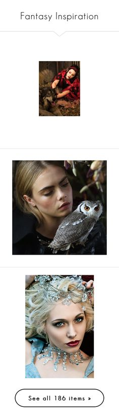 """""""Fantasy Inspiration"""" by kellerking ❤ liked on Polyvore featuring people, cara, models, backgrounds, cara delevingne, pictures, faces, makeup, jewelry and rings"""