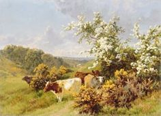 Giclee Print: May Blossom by Charles Collins : North Wales, Quito, Autumnal, Norfolk, Brighton, Branches, Painting, Art, Heidelberg