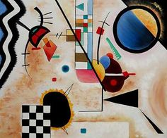 Contrasting sounds (1924), Wassili Kandinsky (1866-1944), russian