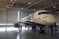A Azul possui a maior frota de modelos E-Jets do mundo, com 88 aparelhos (Thiago Vinholes)