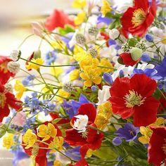 #ручнаяработа #холодныйфарфор #керамическаяфлористика #vkpost #handmade #polymerclay #bouquet #flowers