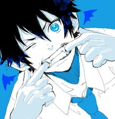 While you're about to take a school picture, Rin Okumura will be in the background doing this.