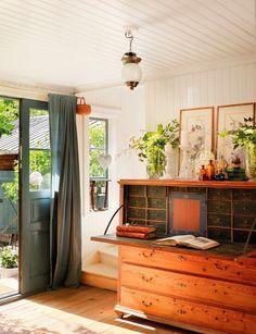 Gran mueble escritorio #cómoda #madera