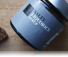 Salty Liquorice Syrup - Lakrids by Johan Bülow, photo by the blog Hverken fugl eller fisk.