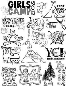 Smash Books for journaling.  The Sew*er, The Caker, The CopyCat Maker: Girls Camp Paper Bag Album