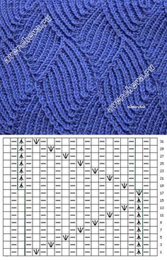Knitting Patterns Techniques How to knit such a pattern. Lace Knitting Stitches, Lace Knitting Patterns, Cable Knitting, Knitting Charts, Lace Patterns, Knitting Designs, Stitch Patterns, Knitting Needles, Couture