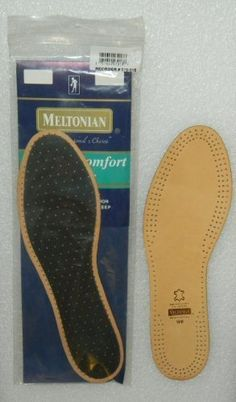 Meltonian #MLIM10 Meltonian Leather Insole - Standard Size Women 10 by Footcare. $9.90. Genuine natural sheepskin leather. Activated carbon filter backing to help prevent foot odor. Absorbs moisture to keep your feet dry. Specially tanned leather remains supple. Shrink resistant.