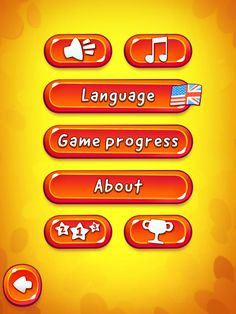 CUT the ROPE 2 | Settings Menu | UI, HUD, User Interface, Game Art, GUI, iOS, Apps, Games, Grahic Desgin, Puzzle Game, Brain Games, Zeptolab | www.girlvsgui.com