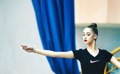 Maria Titova (Russia), backstage Russia Championships (Penza) 2015 (photo by Dmitry Kornev)