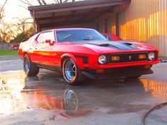 1971 Ford Mustang Mach 1... Siiick