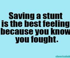 #savingstunts #cheer #stunt #bestfeeling