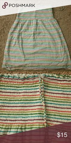 Tube top Multicolored striped tube top Old Navy Tops