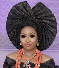 Ready to Wear Gele/Autogele / Gele / wedding Gele African Head Scarf, African Hair Wrap, African Head Wraps, African Print Dress Designs, African Print Dresses, African Dress, African Wedding Attire, African Attire, Lace Gown Styles