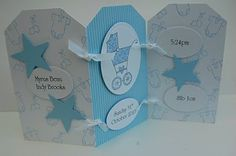 Julie's Japes - An Independent Stampin' Up! Demonstrator in the UK: Birth Announcement cards