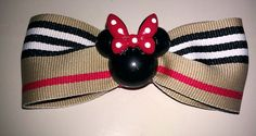 Minnie+mouse+hair+bow+by+VannahsCloset+on+Etsy,+$3.25