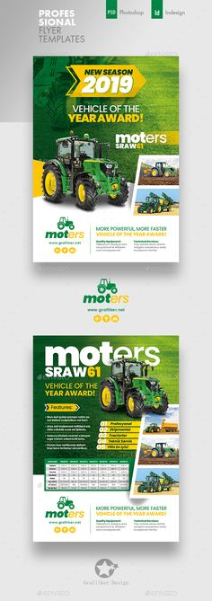 Buy Vehichle Mower Flyer Templates by grafilker on GraphicRiver. Vehichle Mower Flyer Templates Fully layered INDD Fully layered PSD 300 Dpi, CMYK IDML format open Indesign or la. Advertising Flyers, Advertising Design, Corporate Flyer, Business Flyer, Brochure Design, Flyer Design, Design Layouts, What Is Fashion Designing, Flyer Layout