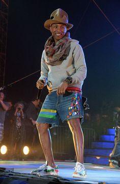 Pharrell Williams Coachella festival