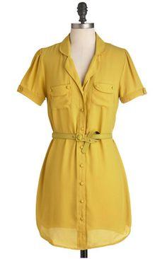 Golden Grasslands Dress