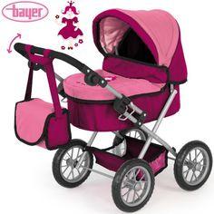 Puppenwagen Trendy in Rosa-Design, 68 cm Schiebehöhe, für Puppen bis 46 cm Hummelladen http://www.amazon.de/dp/B009UQHF9E/ref=cm_sw_r_pi_dp_-6.qub1SNCVVQ