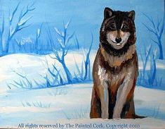 The original paint & sip art classes in Folsom, Sacramento & Santa Cruz, CA. Bring wine or beer & food to enjoy in the painting class. Come paint & sip with us! Winter Wolves, Winter Painting, Paint And Sip, Acrylic Art, Sacramento, Art Studios, Wolf, Paintings, Artist