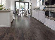 66 Ideas for ceramic wood tile floor colors Dark Wood Kitchens, Wood Look Tile, Waterproof Laminate Flooring, Wood Tile Bathroom, Flooring, Hardwood, Wood Planks, Wood Tile Floors, Wood Plank Tile