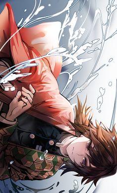 Anime Demon, Anime Manga, Anime Guys, Anime Art, Demon Slayer, Slayer Anime, Dark Fantasy, Thriller, Naruto Vs Sasuke