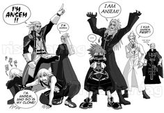 Yeah, it can get pretty confusing. Lol at Sora XD