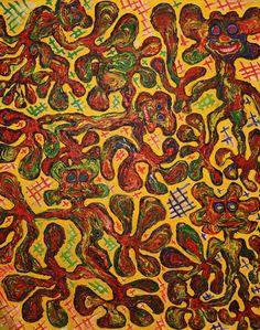 Fall / Maarit Korhonen, acrylic, canvas, 81cm x 65cm Dark Paintings, Original Paintings, Original Art, Autumn Painting, Yellow Painting, Canvas Art, Acrylic Canvas, Painting Canvas, Yellow Wall Art