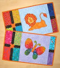 lion and butterfly design placemat