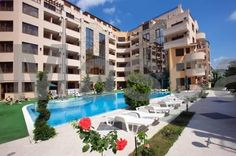 Emerald Paradise Apartments Complex Sunny Beach Situated in Sunny Beach, Emerald Paradise Apartments Complex offers an outdoor pool and spa centre. Action AquaPark is 400 metres away. Free WiFi is provided and free private parking is available on site.