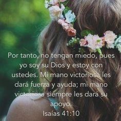 Hoy Dios quiere que nos pongamos de pie y sigamos luchando, no podemos darnos por vencidas, no, menos cuando de nuestro lado tenemos al Todopoderoso quien nunca ha perdido una batalla.