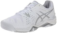 ASICS Women s GEL-Resolution 6 Tennis Shoe The most popular style in the  ASICS stability tennis line gets an update in the ASICS GEL-Resolution 6  shoe. 3c372c939c1d3