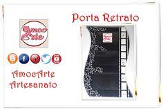 Porta Retrato  http://amocarte.blogspot.com.br/