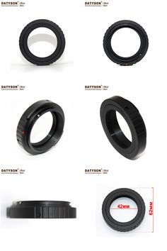 [Visit to Buy] Cameras Telescope Adapter Canon T-Ring for Astronomic Telescope Photography Ring M42X0.75 #Advertisement