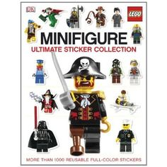 Ultimate Sticker Collection: LEGO Minifigure (Ultimate Sticker Collections) by DK Publishing 0756659841 9780756659844 Legos, Minifigura Lego, Buy Lego, Lego Minifigure, Lego Ninjago, Nightmare Before Christmas, Victoria, Julie Thompson, Lego Winter