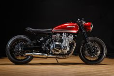 "Kawasaki KZ1000 ""Red Rooster"" by Krakenhead Customs"