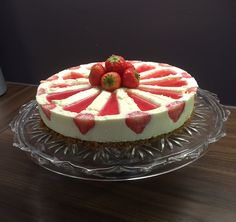 Cheesecake strawberry zilacake #cheesecake #zilacake #strawberry