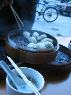 Early Morning Street Food in Suzhou, China