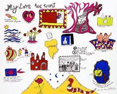 Niki De Saint Phalle - My love we won't