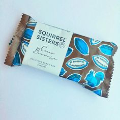 Afternoon snack on a grey day - @squirrelsisters chocolate brownie - I actually liked this. Not too sweet or sickly and a good texture. Picked this up after visit to @planetorganic after @1rebeluk reshape last week. Fewer additives than many bars. Definitely worth a try! #healthyfoodie #healthyliving #healthysnacking #fitfoodie #fitat40 #postworkout