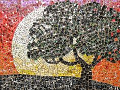 Aluminum Can Mosaic Setting by Junipurse on Etsy, $525.00