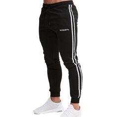2018 GYMS New Men Pants Trousers Men Pants Gymming Men Slim Fiteticdre – eticdress Men Pants, New Man, Trousers, Sweatpants, Joggers, Slim, Sport, Fitness, Mens Tops