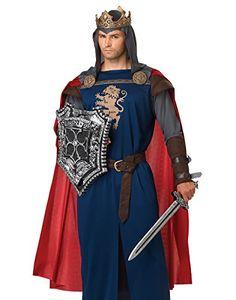 Richard, the LionHeart costume Renaissance days! Costume Renaissance Homme, Medieval Costume, Medieval Party, Renaissance Clothing, King Arthur Costume, King Costume, Costume Craze, Costume Shop, Cool Costumes