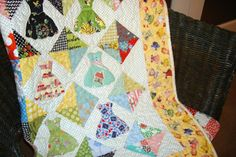 All Dressed Up Quilt Pattern For Download by FredasHive on Etsy