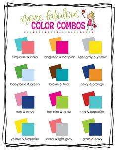 Cute color schemes