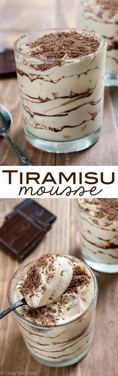 Tiramisu Mousse - verrine à tenter