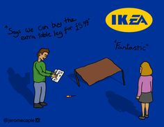 If IKEA use EA business scheme