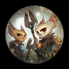 Kaden & Alister - Pictures & Characters Art - Ratchet & Clank Future: A Crack in Time