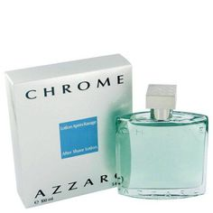 Men's Cologne- Azzaro Chrome By Louis Azzaro After Shave 3.4 Oz