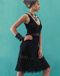 Graficos y Crochet: vestido